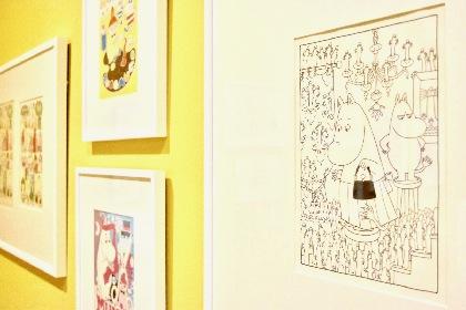 『ムーミン展』が六本木・森アーツセンターギャラリーで開幕 原画やスケッチなど約500点が集う、過去最大規模の展覧会
