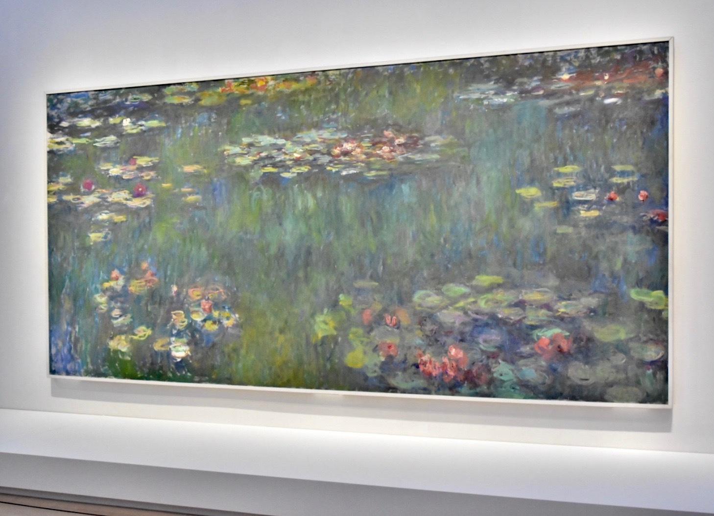 クロード・モネ 《睡蓮の池、緑の反映》 1920-26年