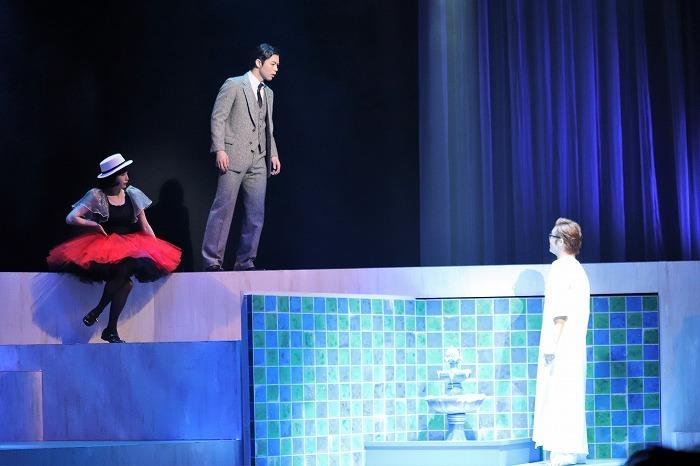 東山義久 Ver.ミュージカル『イヴ・サンローラン』舞台写真