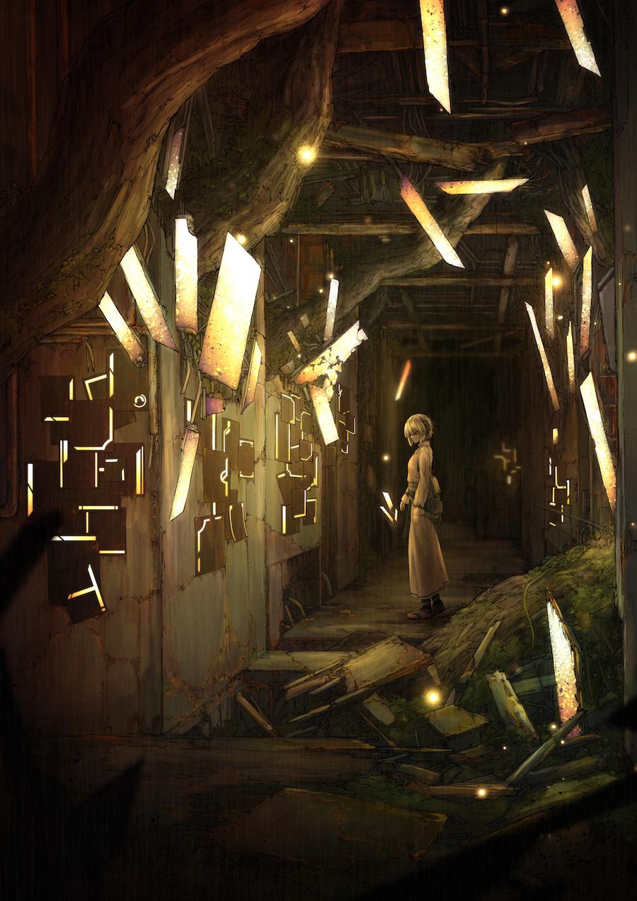 宮下遊 3rdアルバム『錆付くまで』初回限定盤イラスト