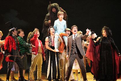 ティム・バートン映画がミュージカルとなって日本上陸! ミュージカル『ビッグ・フィッシュ』公開ゲネプロ