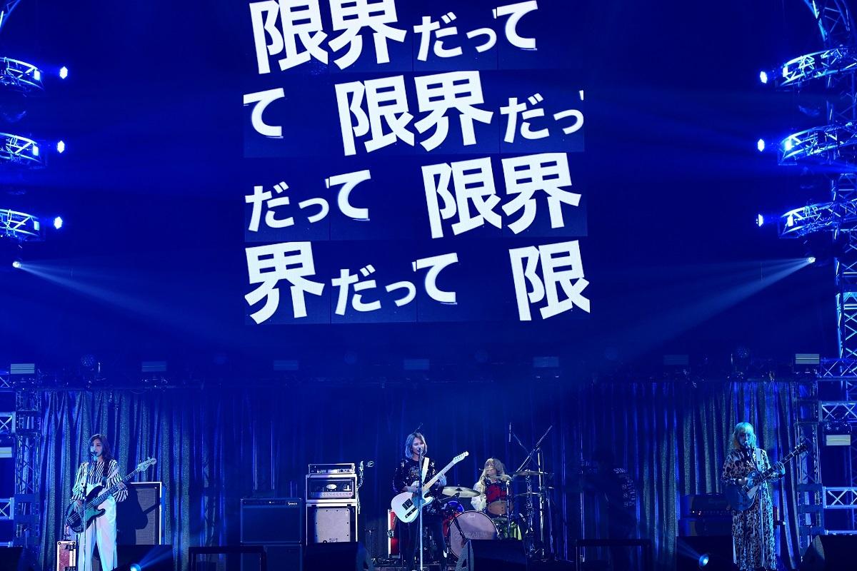 SCANDAL (C)テレビ朝日ドリームフェスティバル2019 / 写真:岸田哲平