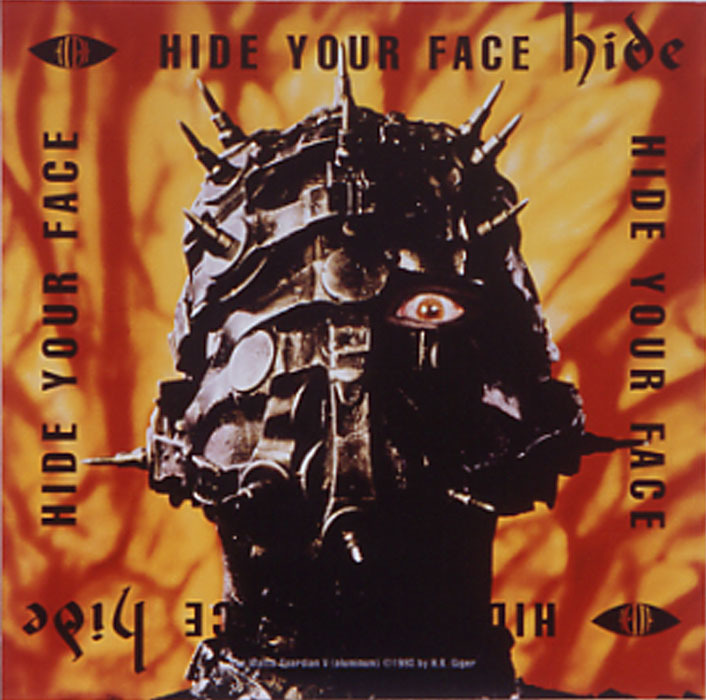 hide 1st Album『HIDE YOUR FACE』