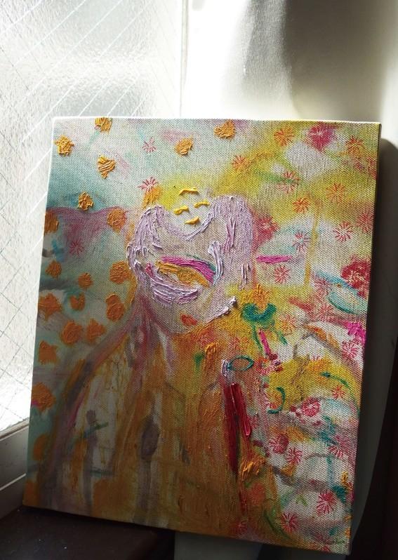 「人物」2017年 キャンバルに油彩