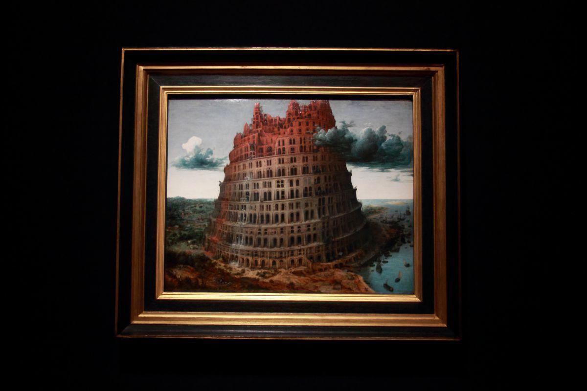 ピーテル・ブリューゲル1世《バベルの塔》1568年、油彩、板