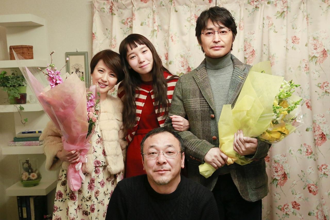 上段左から、三浦理恵子、飯豊まりえ、安田顕