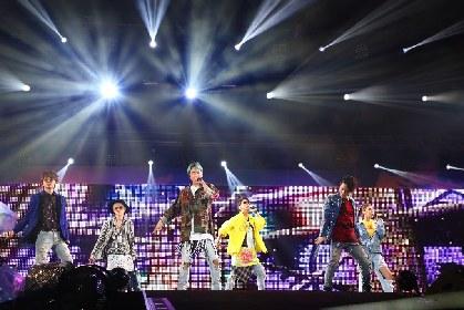 AAAが初のヘッドライナー EXILE THE SECOND、三浦大知、ピコ太郎ら17アーティストが55,000人を魅了した『a-nation 2017』初日