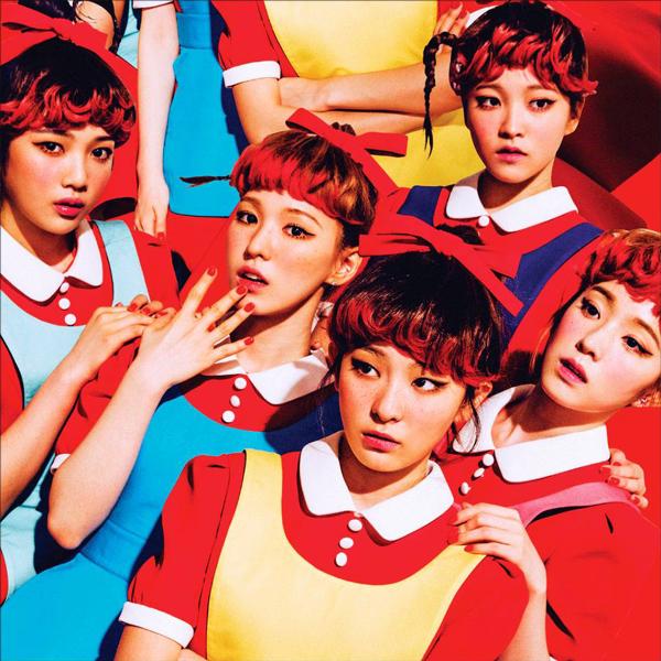 Red Velvet アルバム「The Red」ジャケットより