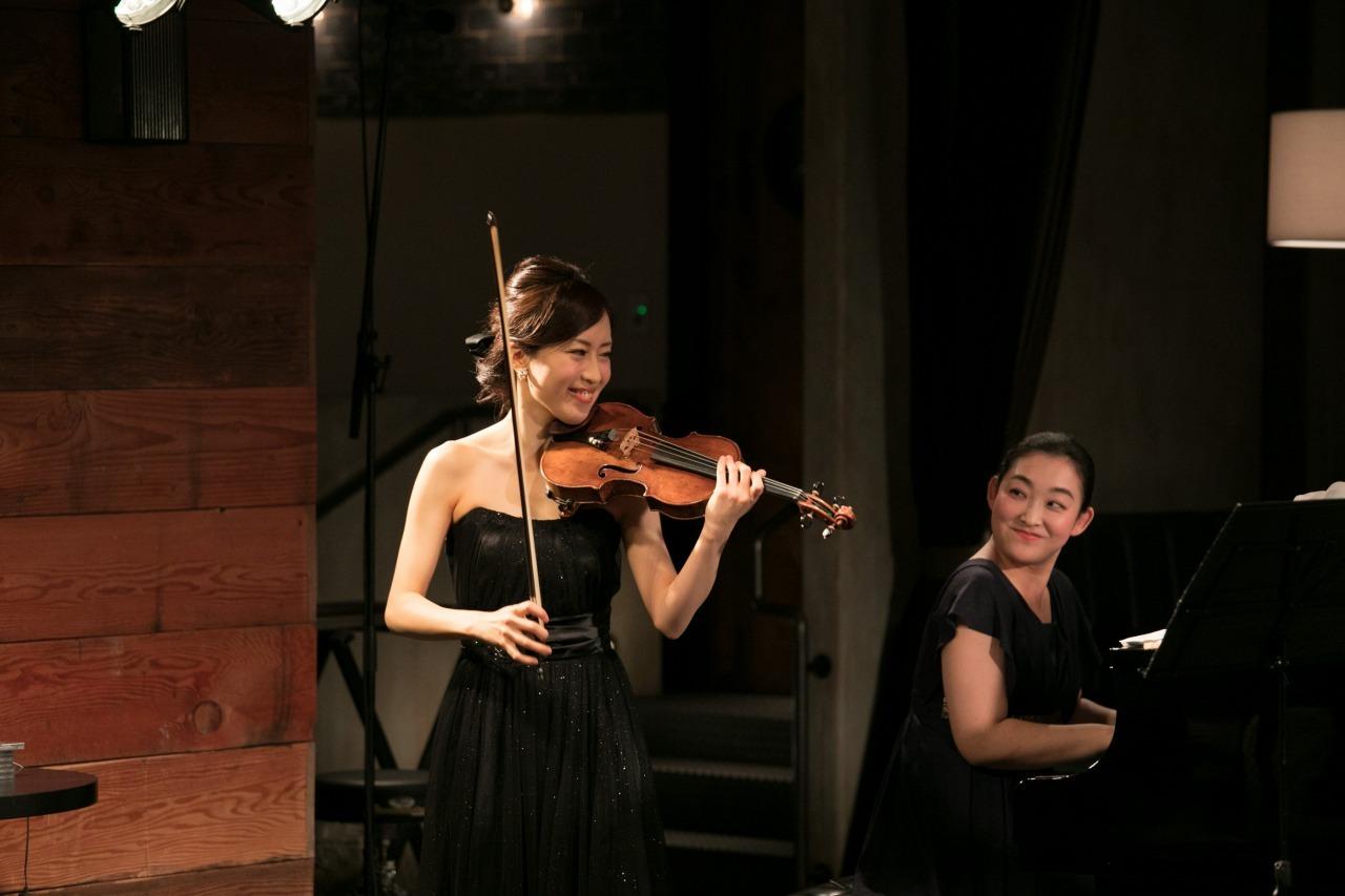 千葉清加(ヴァイオリン)&坂本真由美(ピアノ)