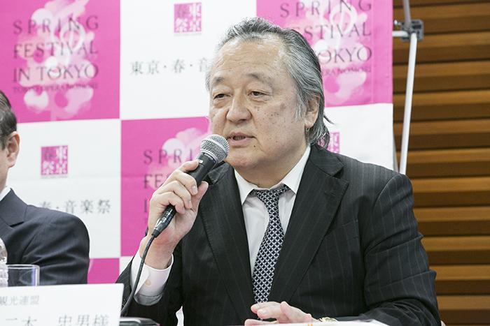 二木忠男上野観光連盟会長