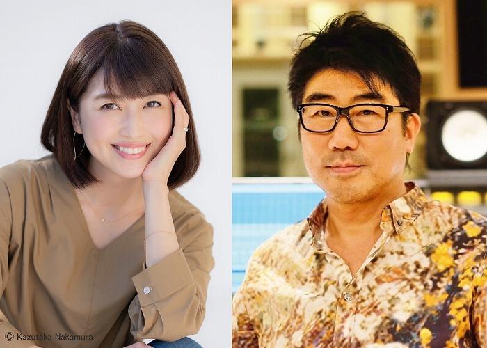 左:新妻聖子、 右:亀田誠治