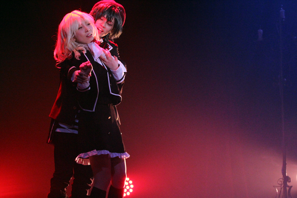 舞台『DIABOLIK LOVERS  MORE,BLOOD』  撮影=松本裕美