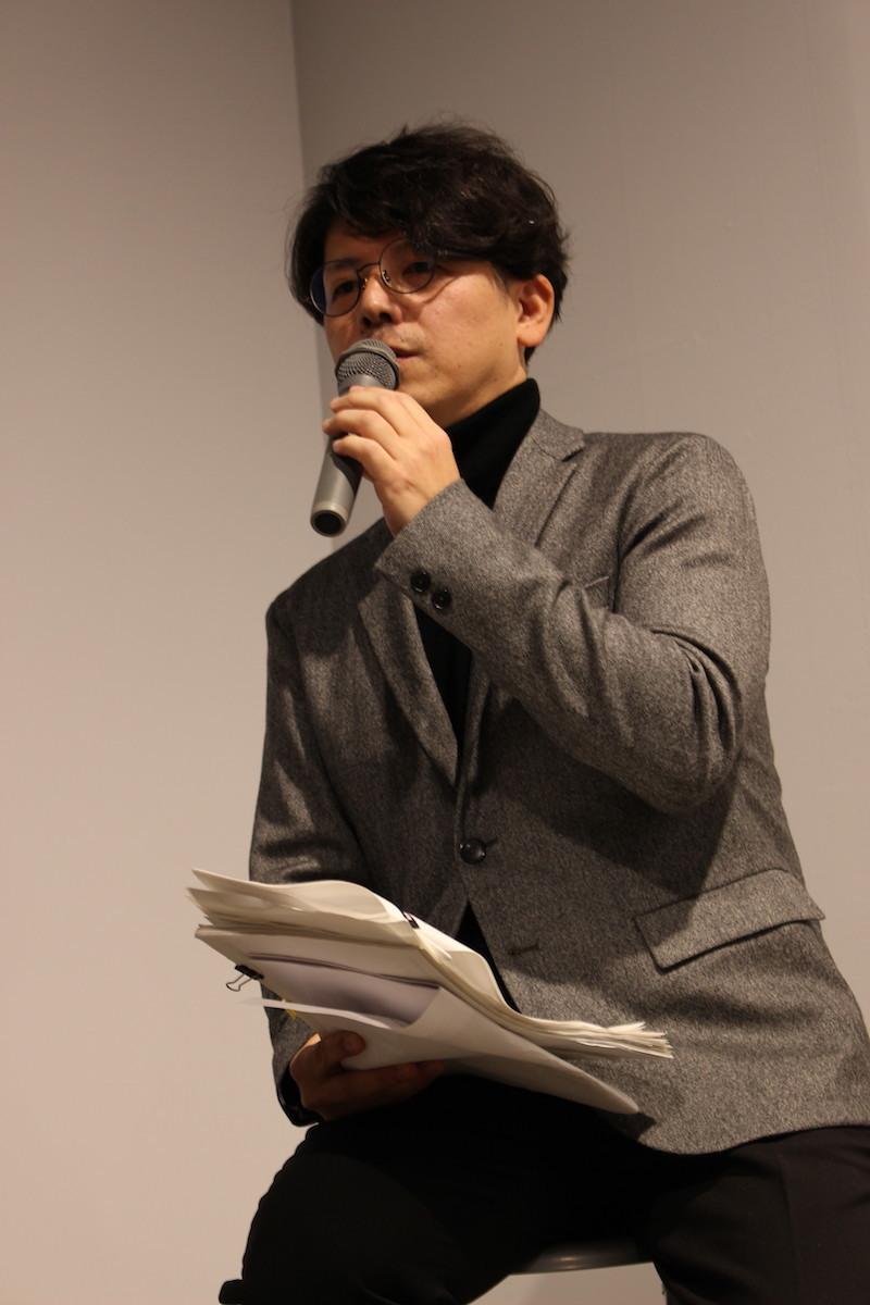 坂本眞一トークショー
