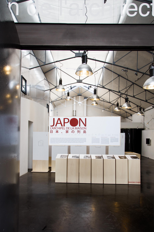 ポワティエ建築会館での展示の様子/2014年 撮影:ジェレミ・ステラ