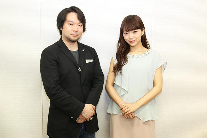(左から)藤沢文翁、三森すずこ (撮影=こむらさき)