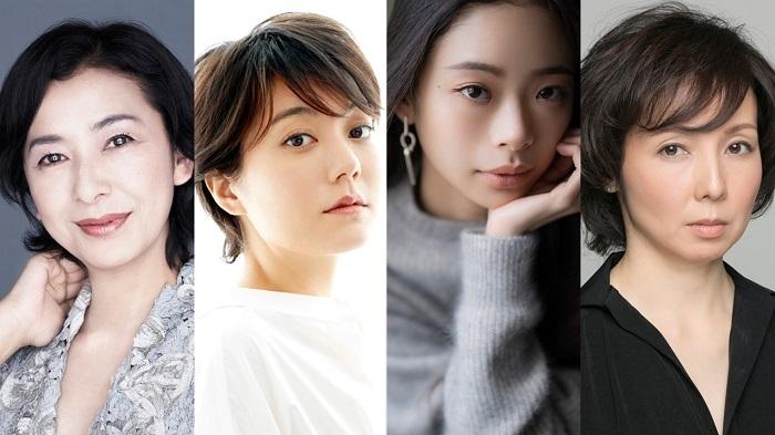 (左から)高橋惠子、鈴木 杏、趣里、那須佐代子