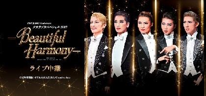 宝塚歌劇のスターが集う年に一度の祭典『タカラヅカスペシャル2019-Beautiful Harmony-』のライブ中継開催決定