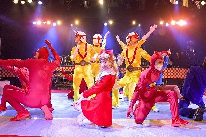 ファンを虜にする企画が満載! LIVE ミュージカル演劇『チャージマン研!』R-2が開幕 舞台写真&コメントが到着