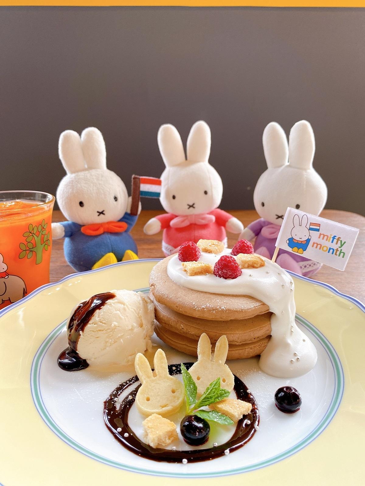 ミッフィーのお誕生日ケーキセット(ドリンク付き)