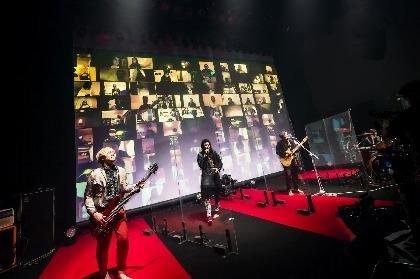 MUCCというバンドの底力を見せつけた初の無観客配信ライブ、NoGoD・団長がレポート