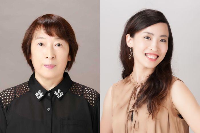 (左から)川口節子、松村一葉