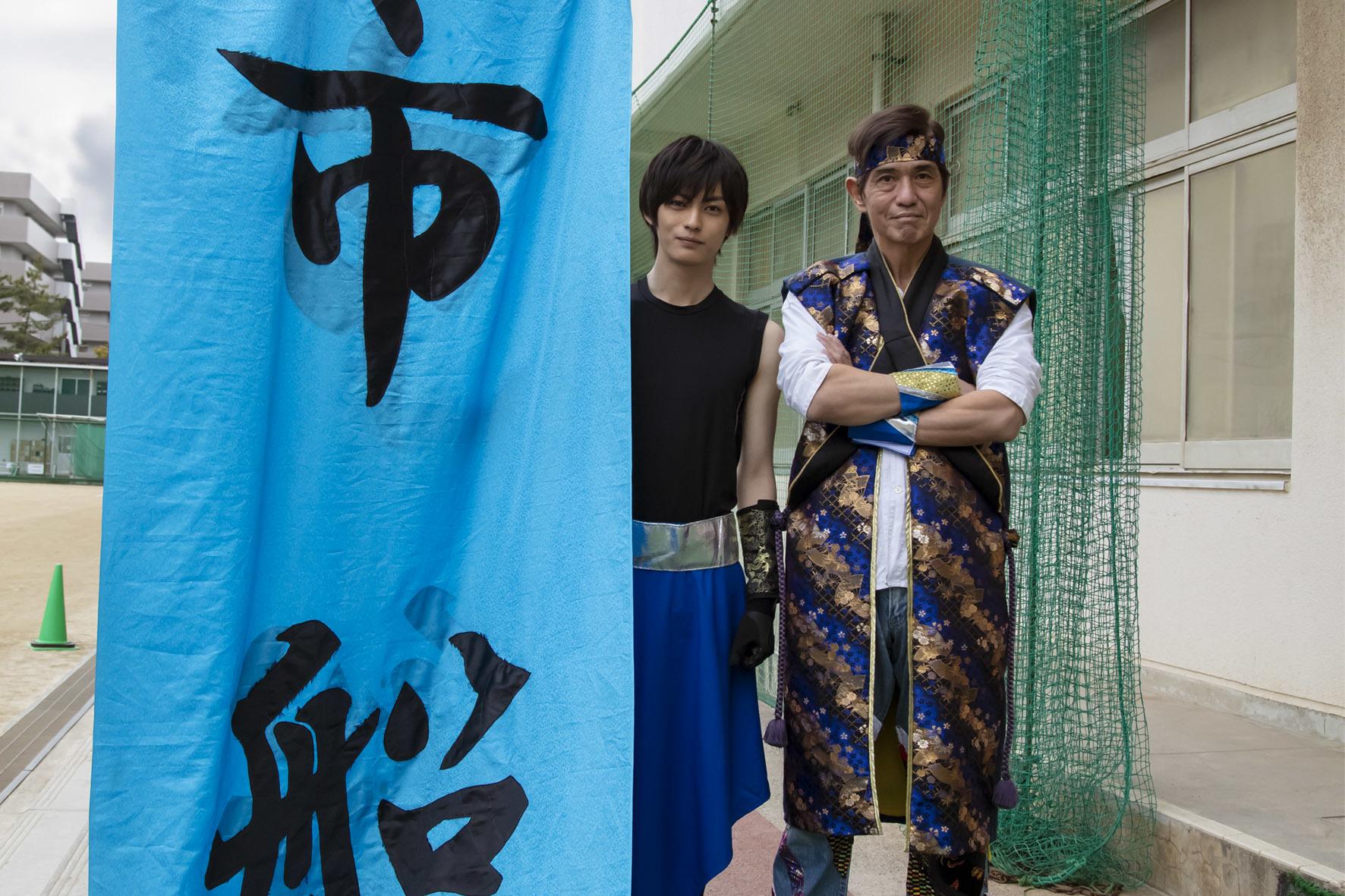 左から、神尾楓珠、佐藤浩市 (C)2022「20歳のソウル」製作委員会