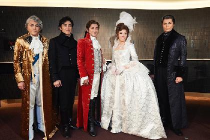 石丸幹二、安蘭けい、石井一孝ら出演『スカーレット・ピンパーネル』いよいよ開幕!仏の恐怖政治に英貴族たちが立ち上がる!