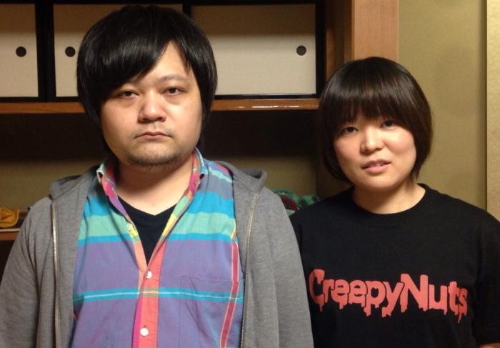 左:今田健太郎 右:鳥原弓里江