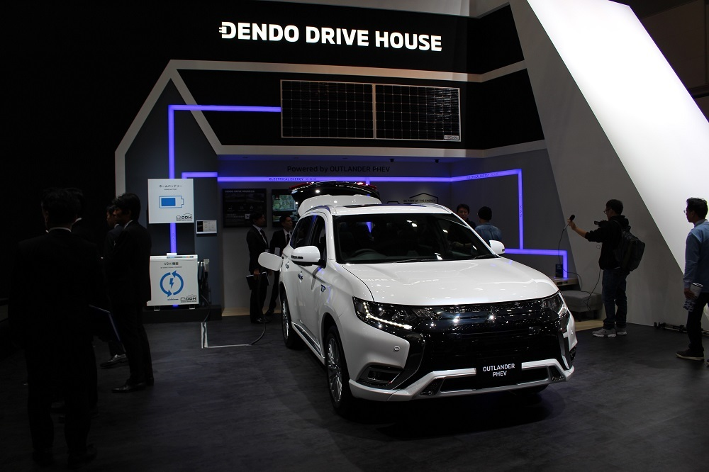 三菱自動車の「電動DRIVE HOUSE」