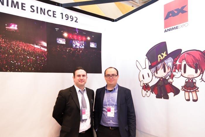 日本アニメーション振興会、ANIME EXPO運営のバームガデナーさんとモーアさん