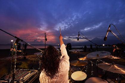 The BONEZ、福島・猪苗代で1年ぶりの復活ライブ 「みんながいて俺らがいる」