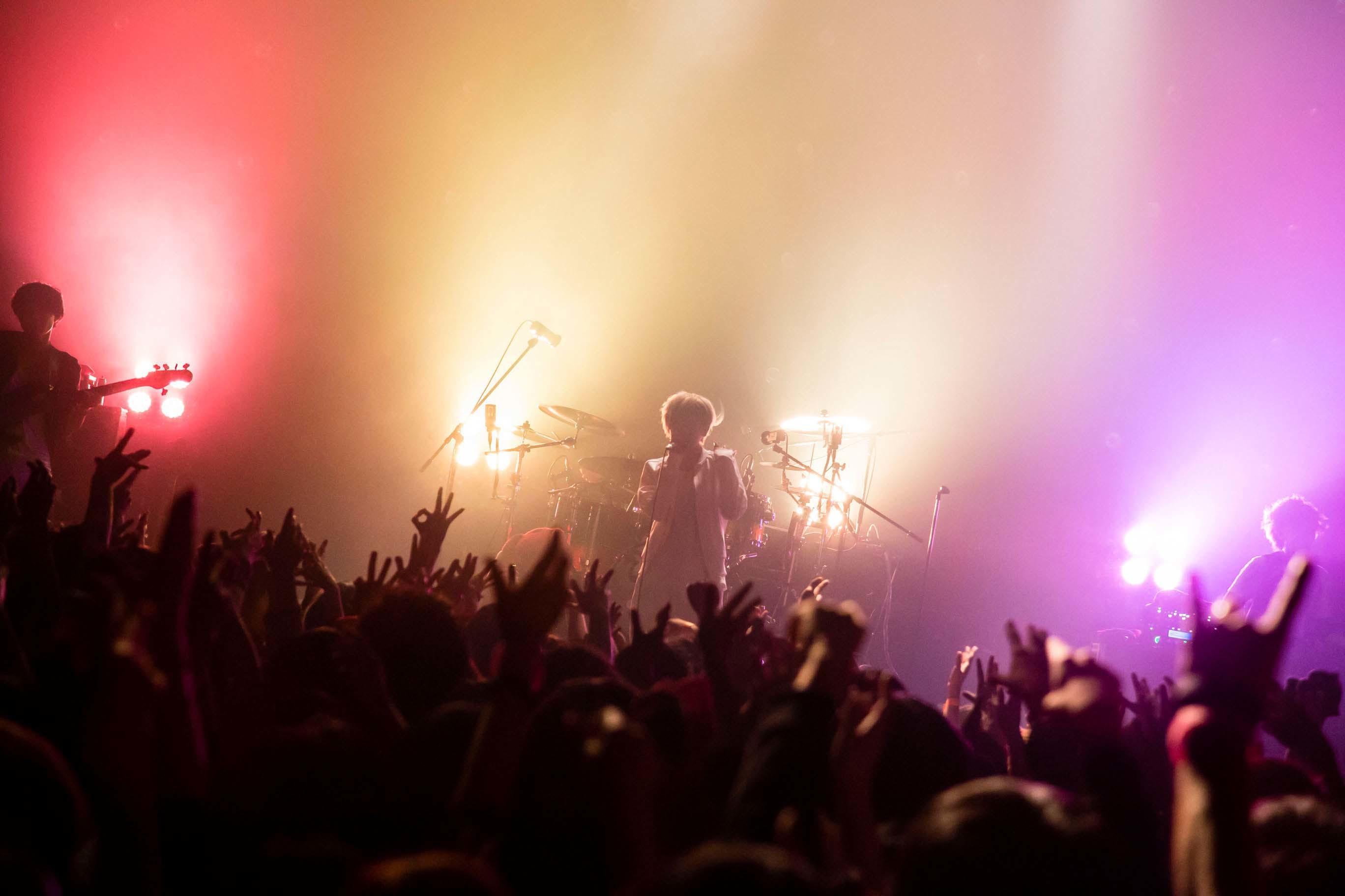 ミオヤマザキ ライブ写真