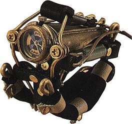 スチームパンク手作り腕時計(末吉 晴男)