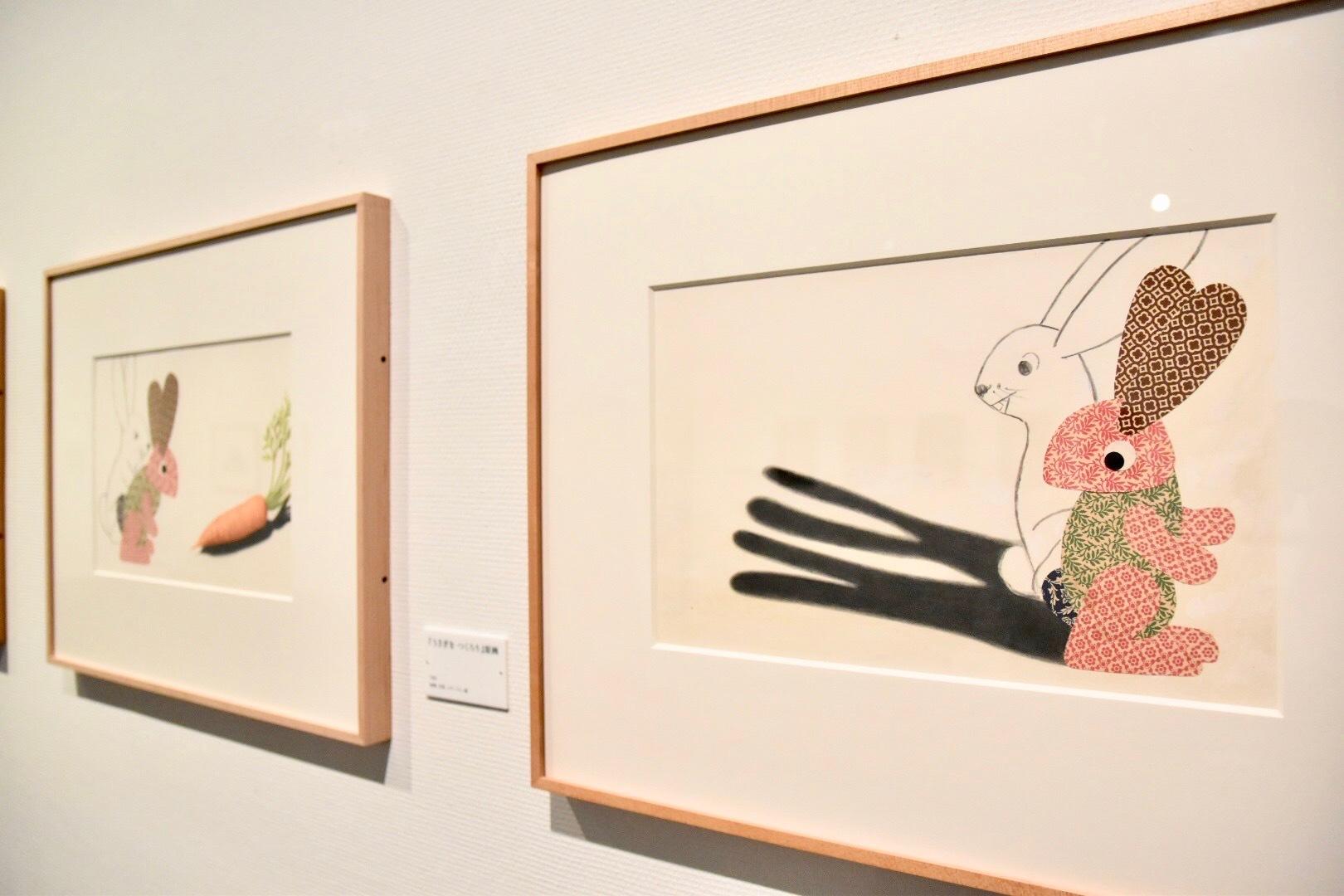 『うざぎを つくろう』原画 1982年 アニー・レオーニ氏所蔵