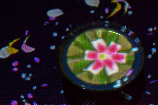 「EN TEA HOUSE」flowers bloom in an infinite universe inside a teacup