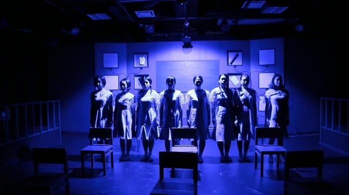 2018年三毛猫座本公演『アンドロイドは毒をも喰らう』より。 2021年8月に再演予定