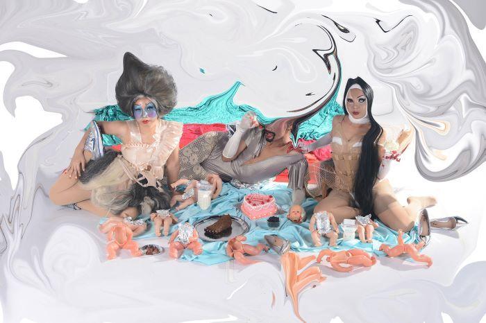 新作上映会に変更となった、ナターシャ・トンテイ『秘密のグルメ倶楽部』イメージビジュアル。 ©︎Natasha-Tontey