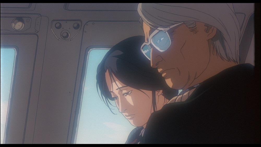 南雲と柘植 (C)1993 HEADGEAR/BANDAI VISUAL/TOHOKUSHINSHA/Production I.G