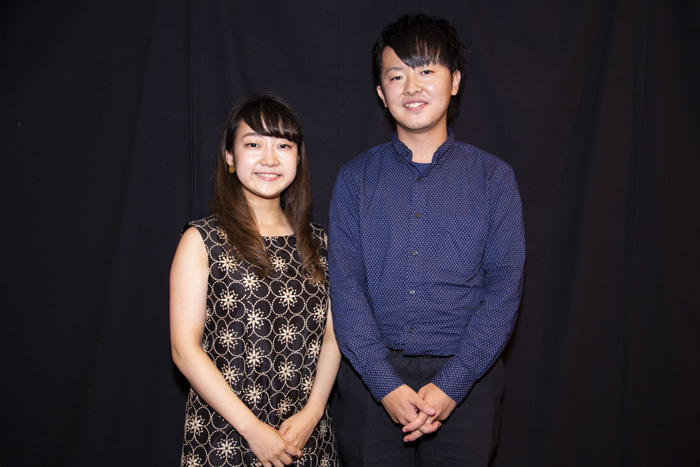 戸澤采紀(ヴァイオリン)、樋口一朗(ピアノ)