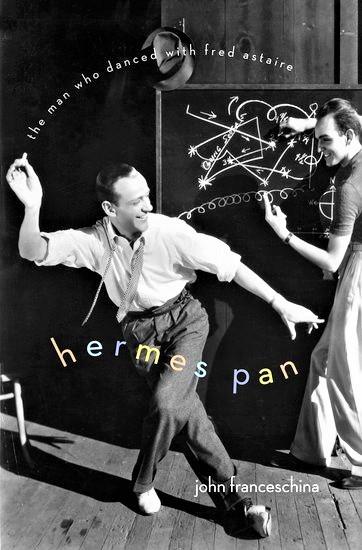 2012年に出版された、ハーミズ・パンの伝記「フレッド・アステアと踊った男」(洋書)。表紙の右がパン。なるほどそっくりだ。
