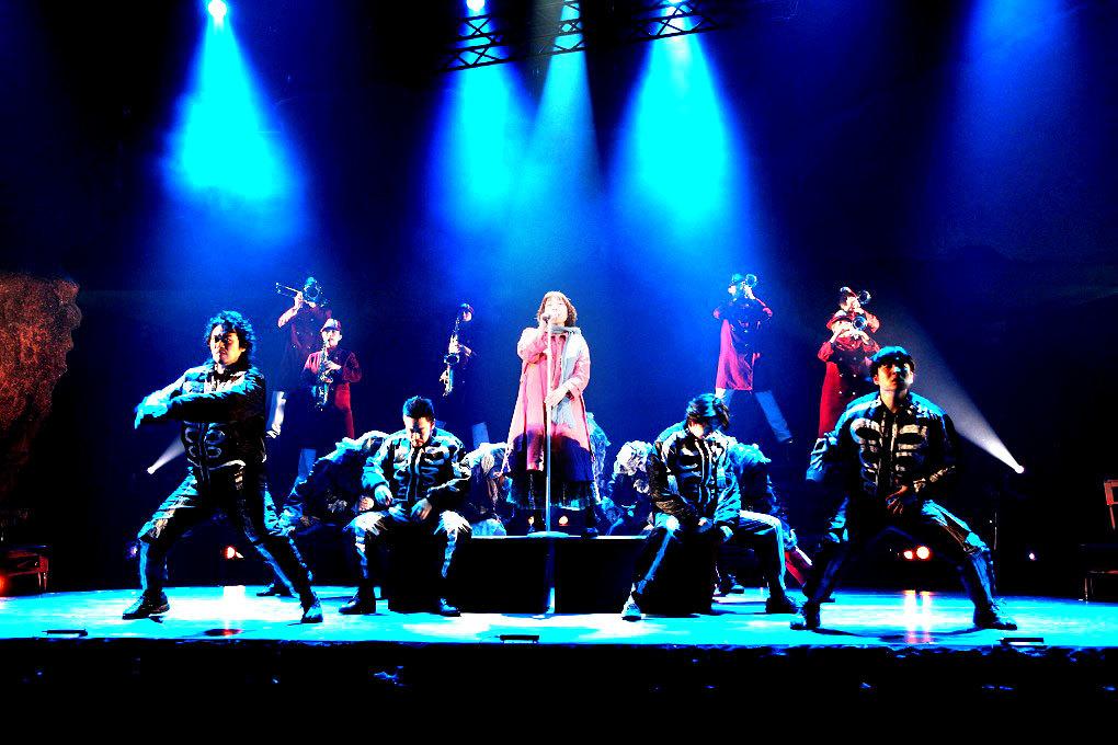 『音楽劇「BONE SONGS」』(2013年上演) 舞台写真