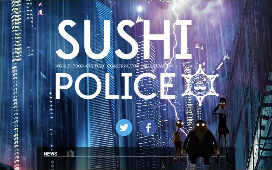 "© ""SUSHI POLICE"" Project Partners"