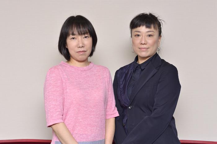 (左から)田中希世子、毛利美咲 (撮影:荒川潤)