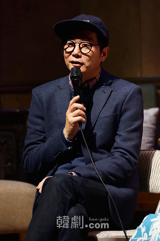 時事ネタを封印した演出意図を語るチャン・ジン監督