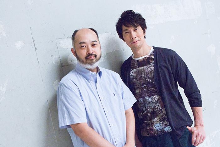 (左から)森新太郎、佐々木蔵之介
