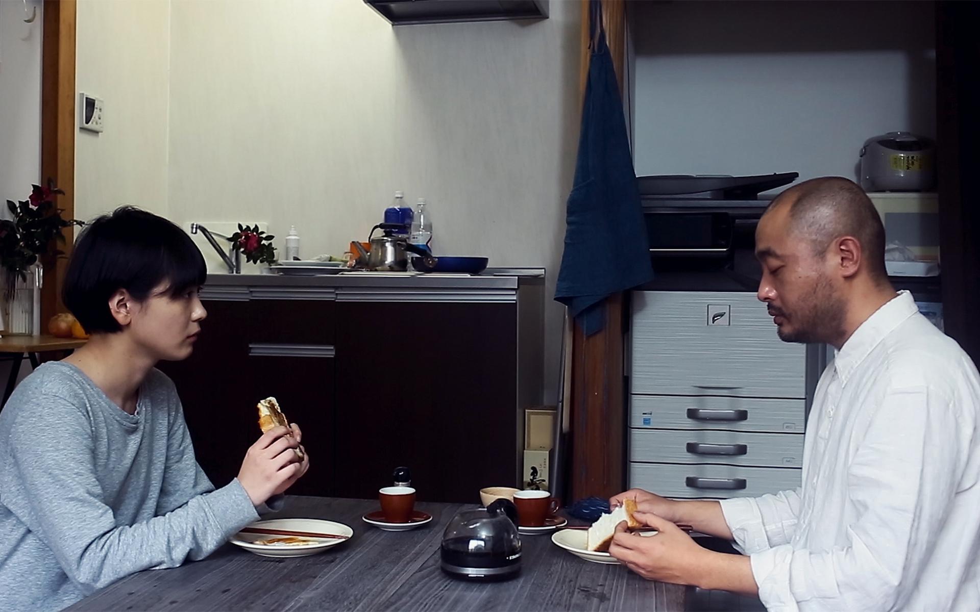 左から、瀬戸かほ、宇野祥平 (C)2019 キングレコード株式会社