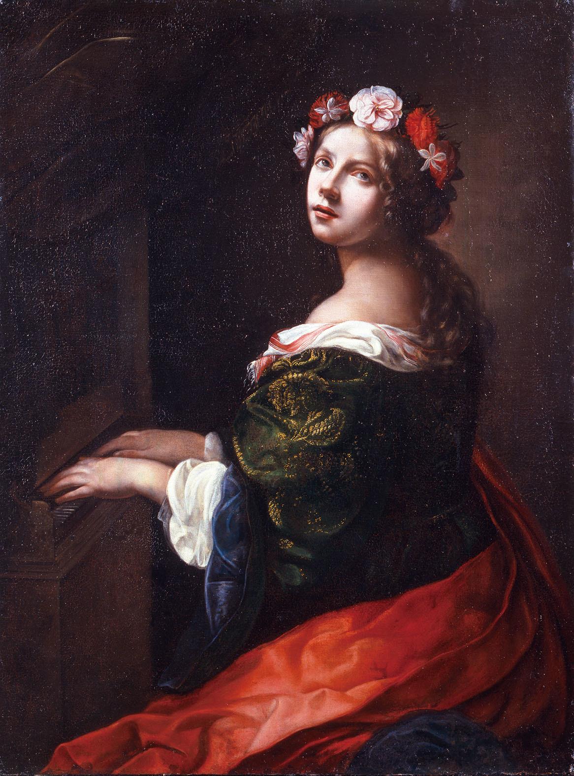 オノリオ・マリナーリ「聖チェチリア」