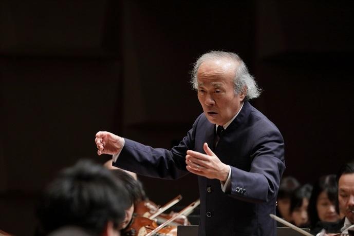 1年間のミュージック・アドヴァイザーを経て、第3代音楽監督に就任した尾高忠明 (C)飯島隆