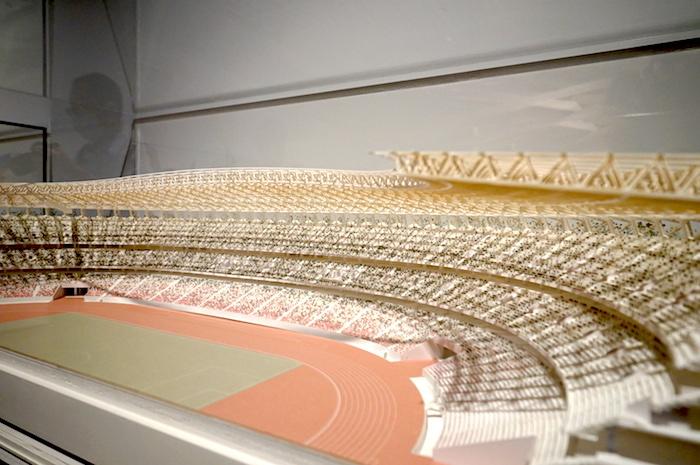 《国立競技場》(2019 東京都新宿区)模型