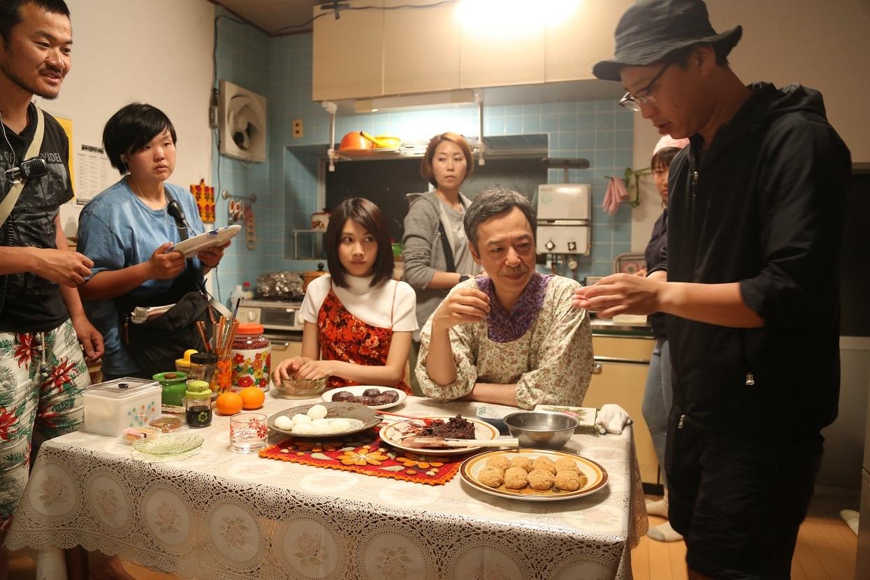 『おいしい家族』撮影風景 (C)2019「おいしい家族」製作委員会